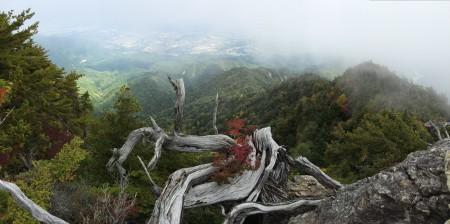 飯島町側の遠望