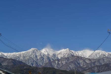 1月3日南駒ヶ岳